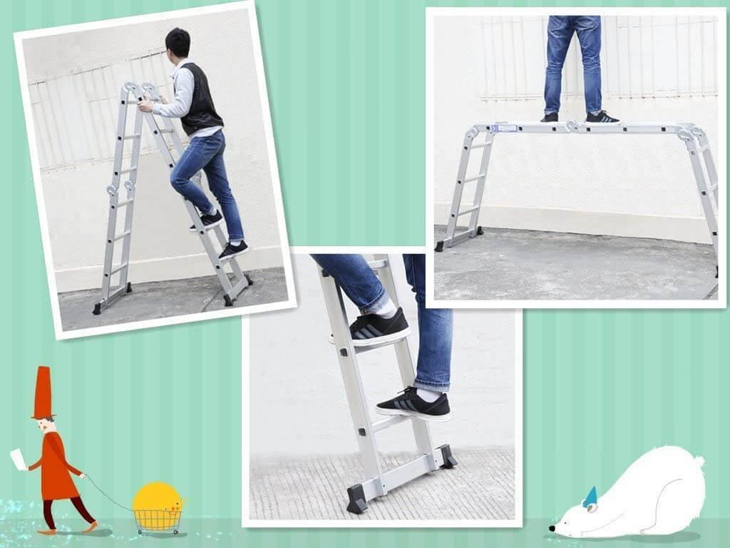 best gutter cleaning ladders