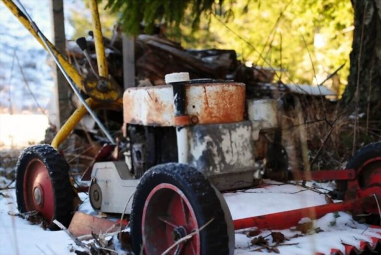 How to store Electric Lawn Mower for Winter