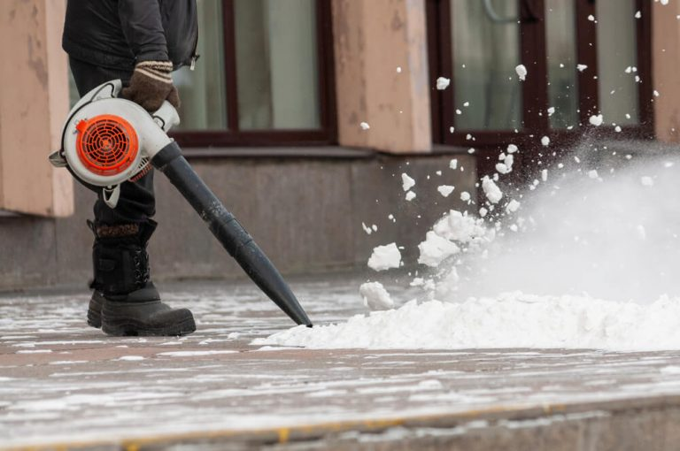 Can a Leaf Blower be used as a Snow Blower
