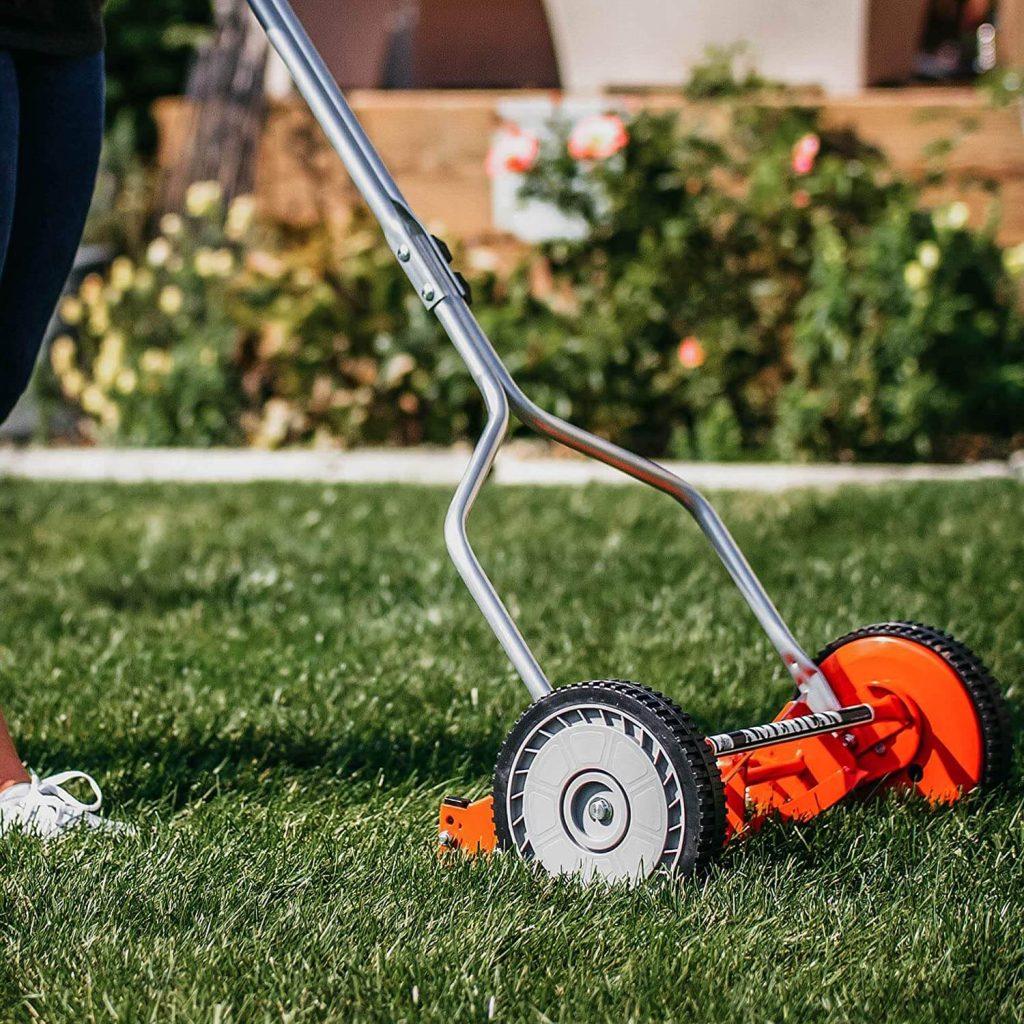 affordable reel mower