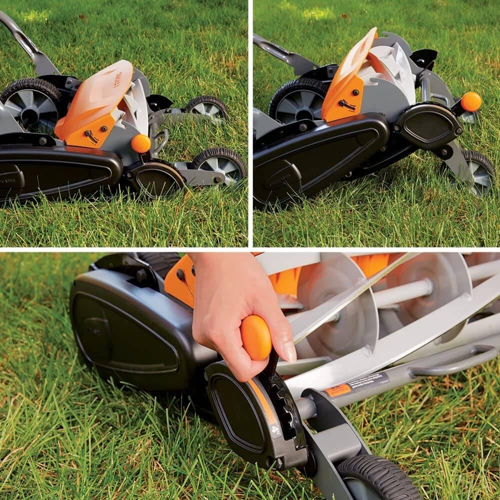 best reel mower for uneven terrain