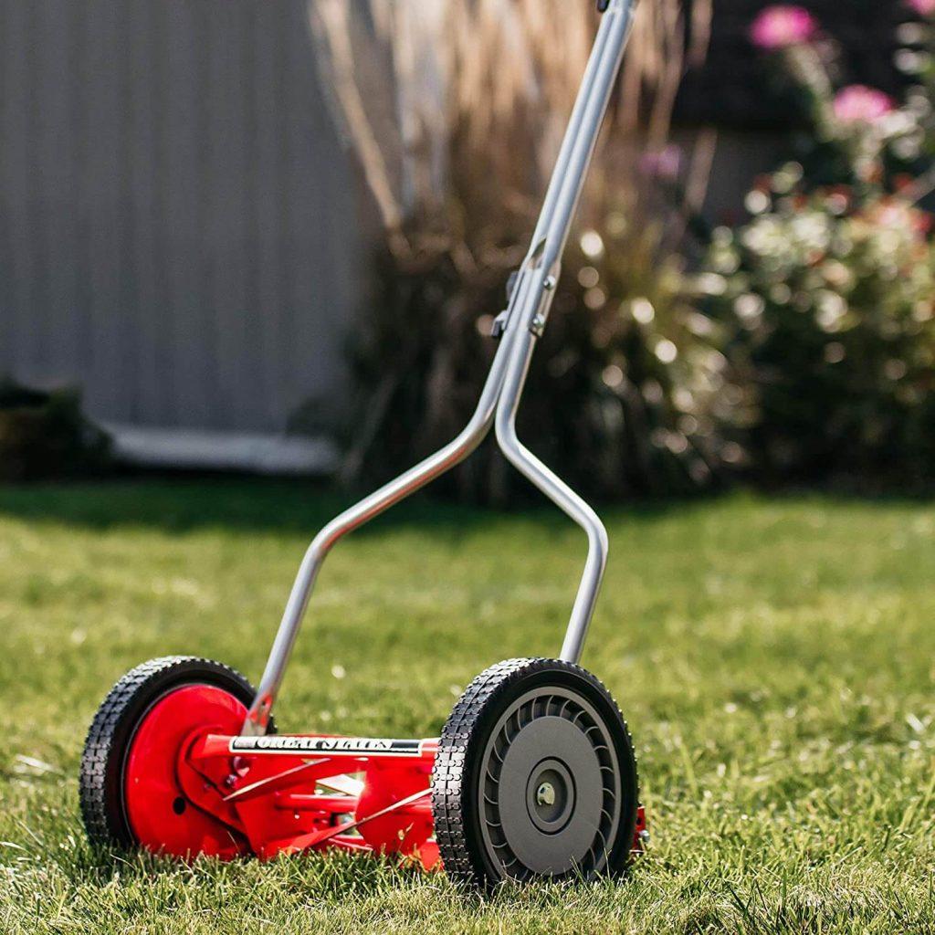best push behind reel mowers