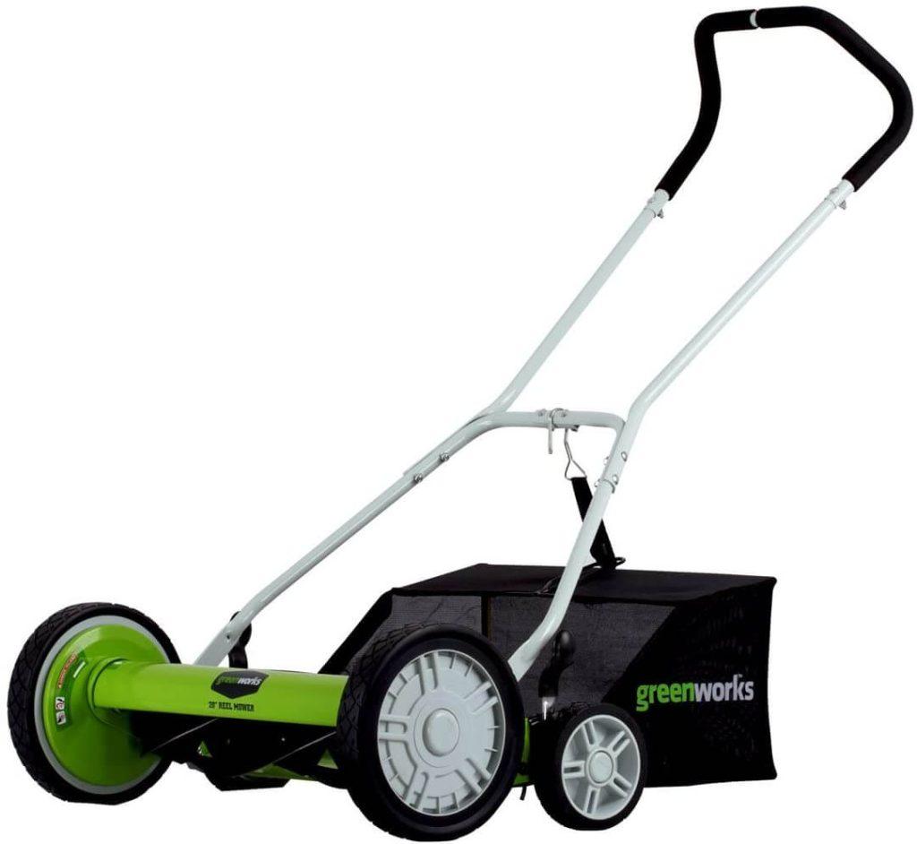 best reel mowers for uneven terrain