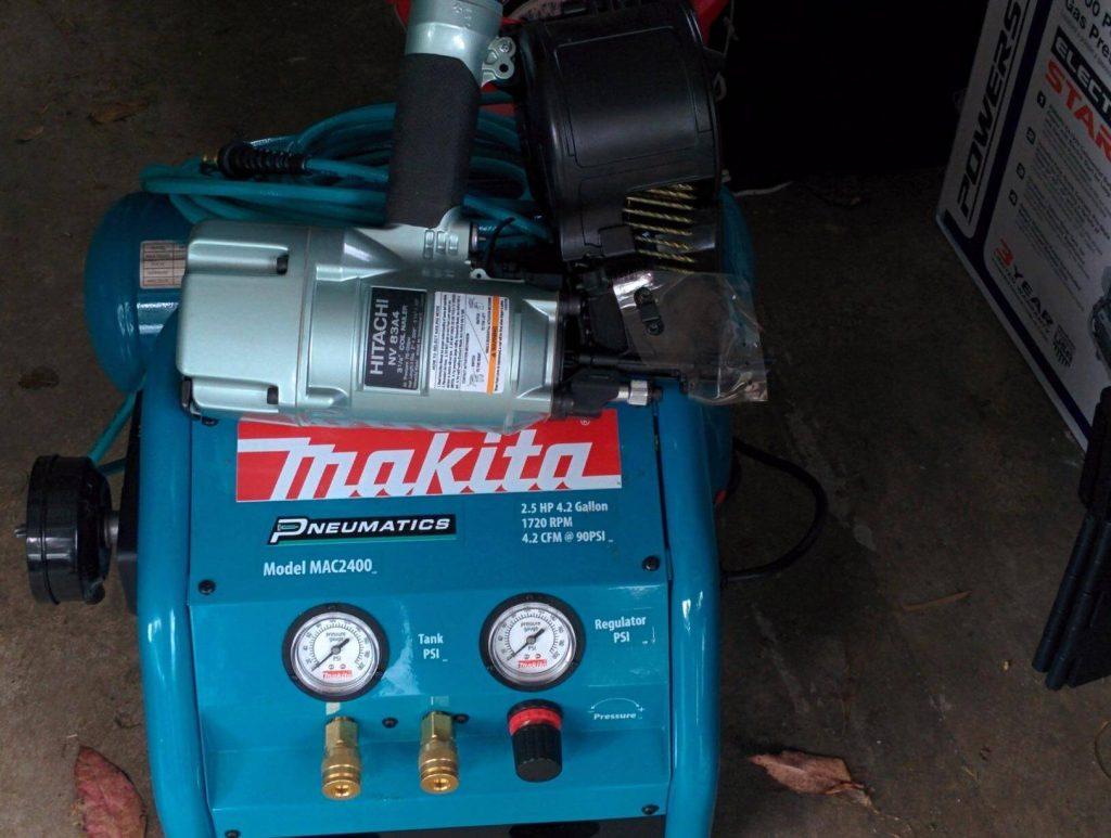 Makita MAC2400 vs MAC5200