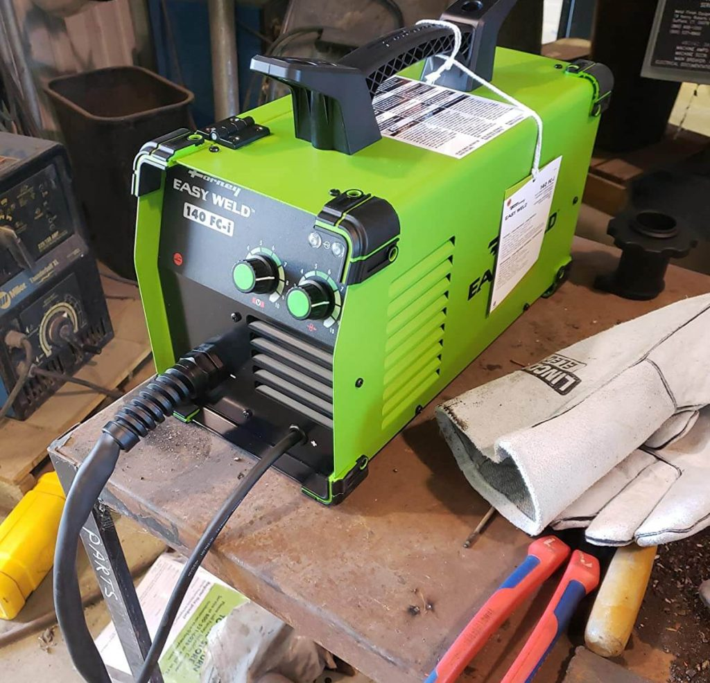 review of Forney Easy Weld 261 welding machine