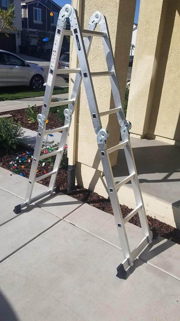 best gutter cleaning ladder