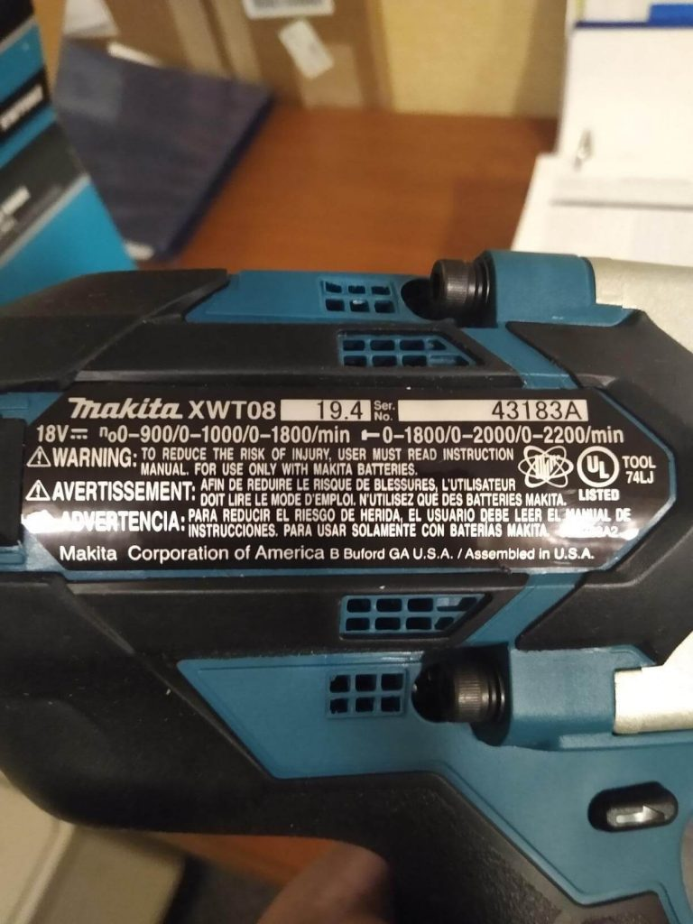 Makita XWT08Z impact wrench Review