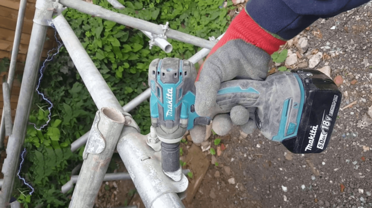 Best Cordless Impact Wrench for Scaffolding