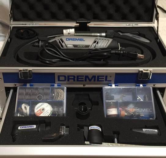 Dremel 4300-964 Rotary Tool Kit with Flex Shaft