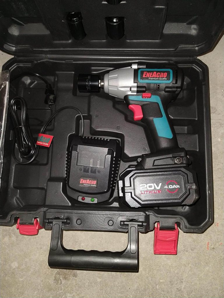 ENEACRO 20V Cordless Impact Wrench - Cordless Impact Wrench for Scaffolding