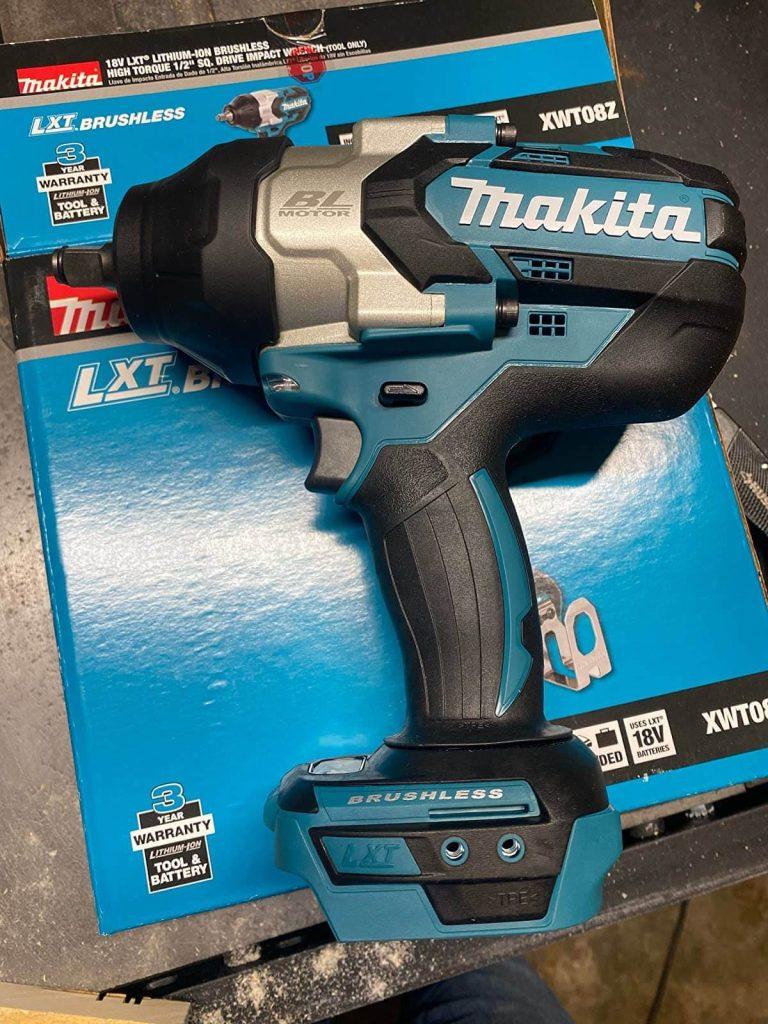 Makita XWT08Z Brushless Cordless Impact Wrench- Best Cordless Impact Wrench for Scaffolding